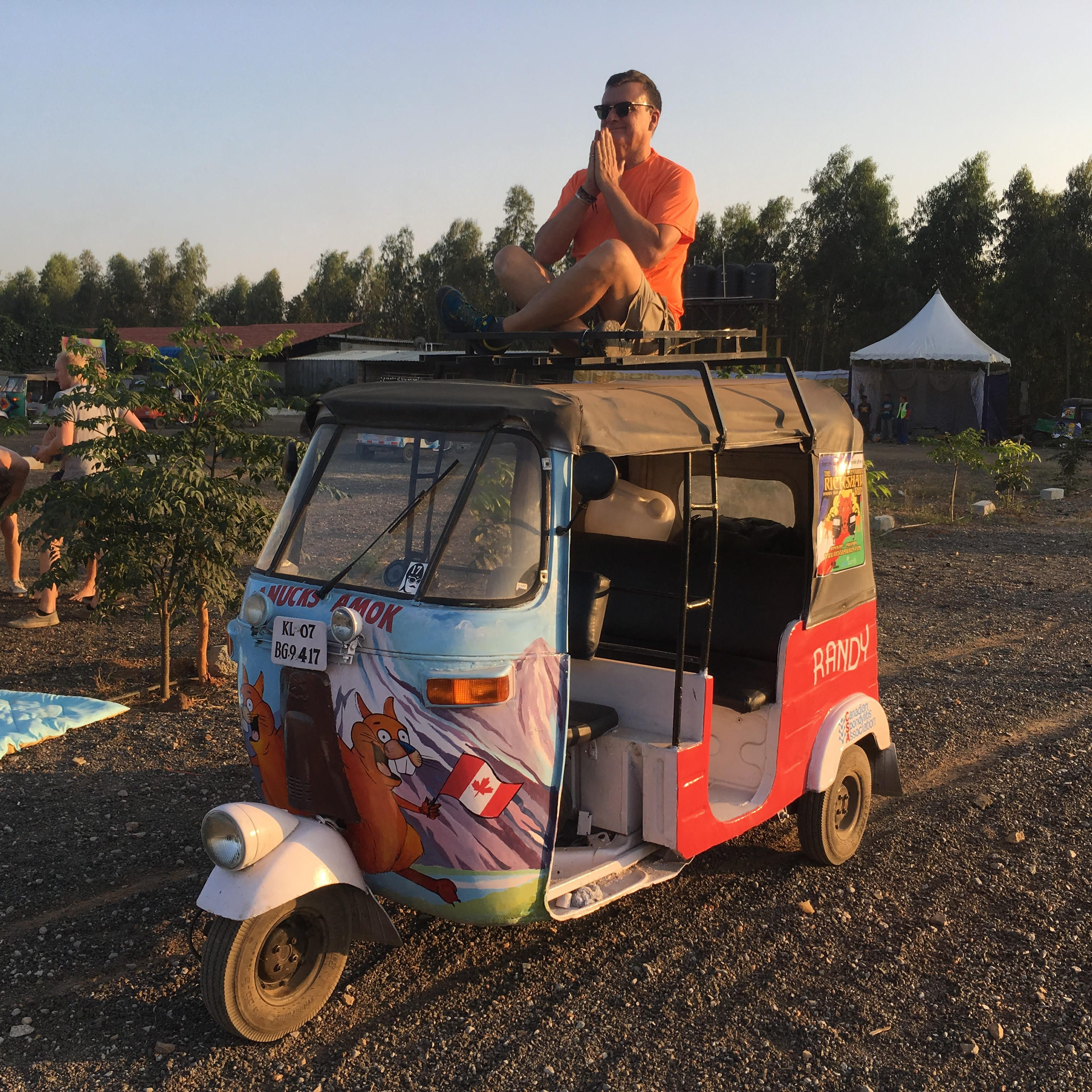 Tuk Tuk Rally India